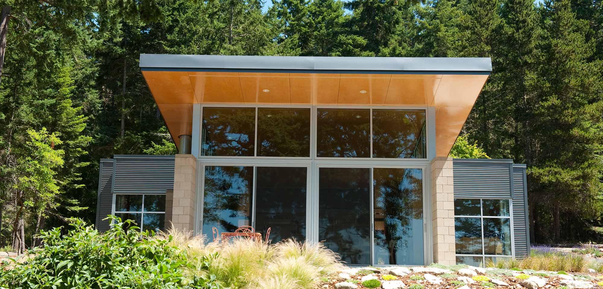 Lopez Island Cabin designed by Stuart Silk