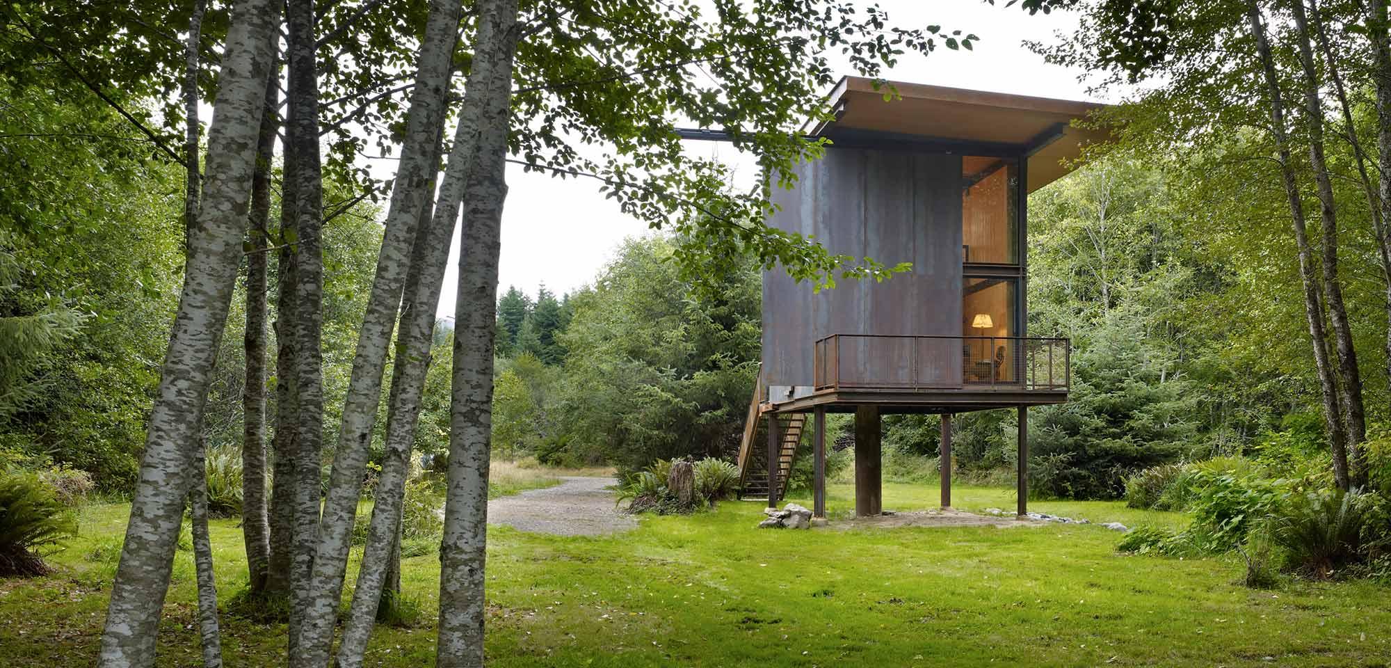 Sol Duc Cabin designed by Tom Kundig