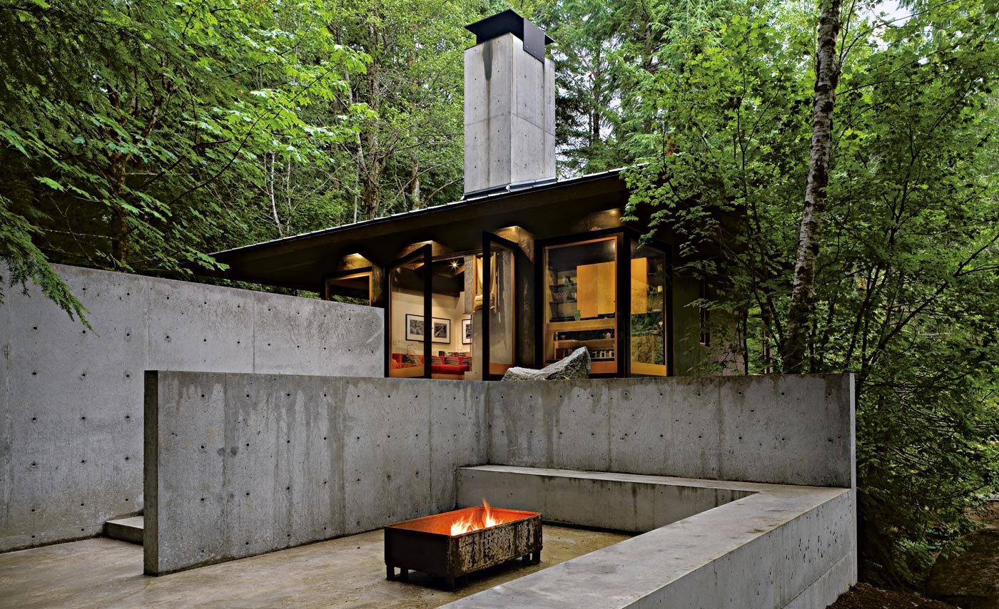 Tye River Cabin designed by Tom Kundig