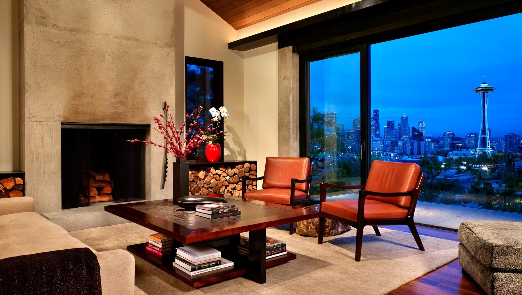 Ward Street Residence designed by Garrett Cord Werner