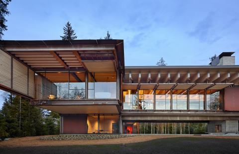 Whistler Ski House by Olson Kundig